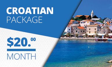 Croatian Package TV Banner