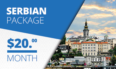 Serbian Package TV Banner