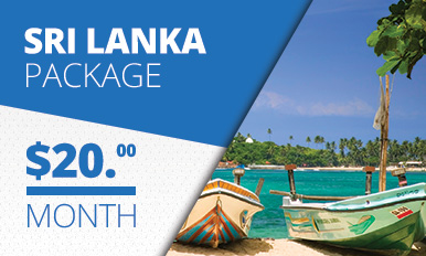 Sri Lanka Package TV Banner